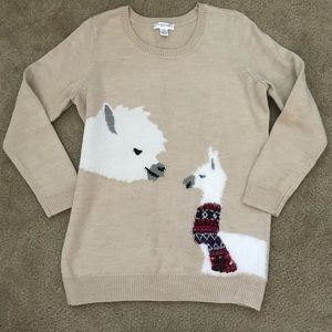 Motherhood Maternity Llama Sweater Size XL